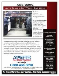 auto dealer car wash equipment florida 220C