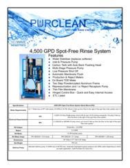 florida car wash reverse osmosis spot free