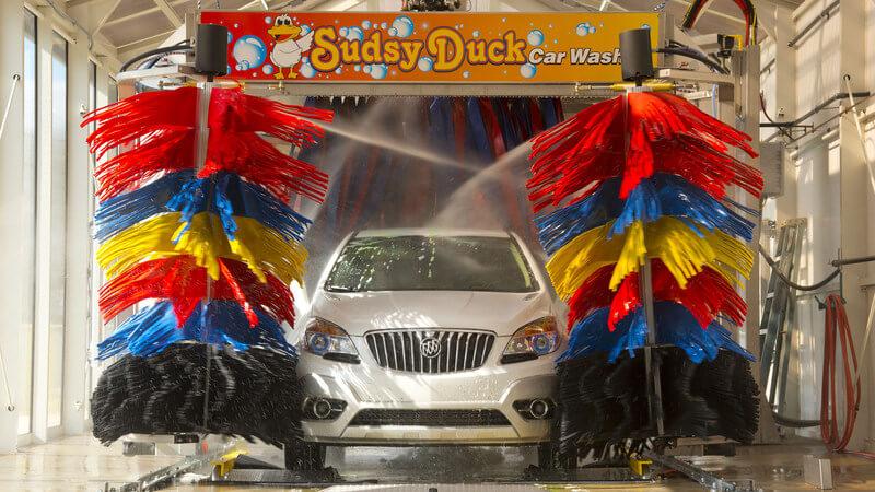 car wash photo Florida AUTEC soft touch