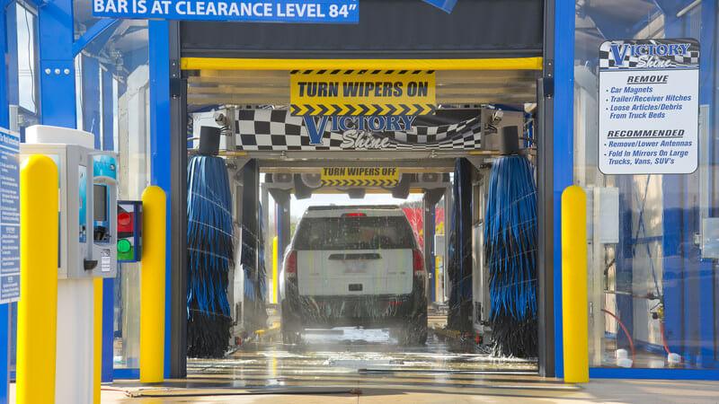 car wash photos Florida AUTEC inbay express