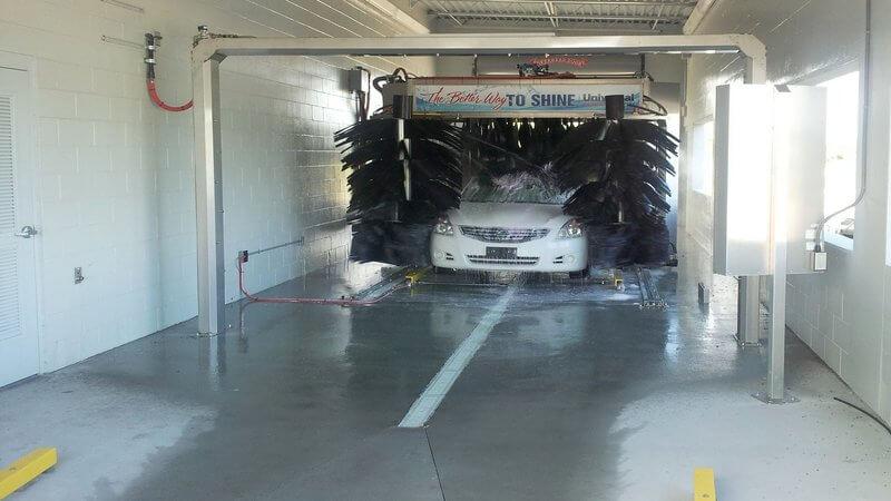 car wash photos Florida AUTEC soft touch auto dealer arch
