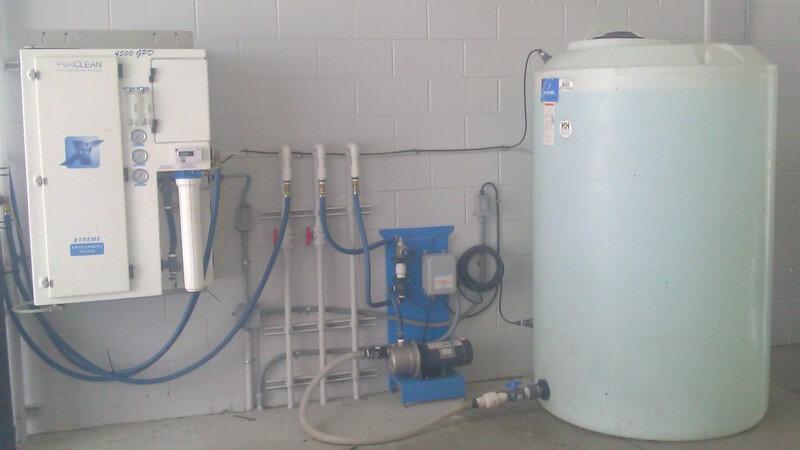 car wash photos Florida reverse osmosis auto dealer enclosure