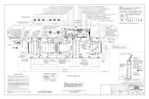 florida car wash equipment express tunnel building drawing 1
