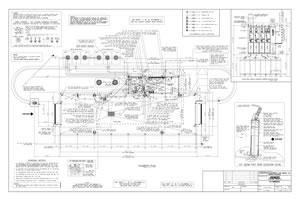 florida car wash equipment layout drawing 2